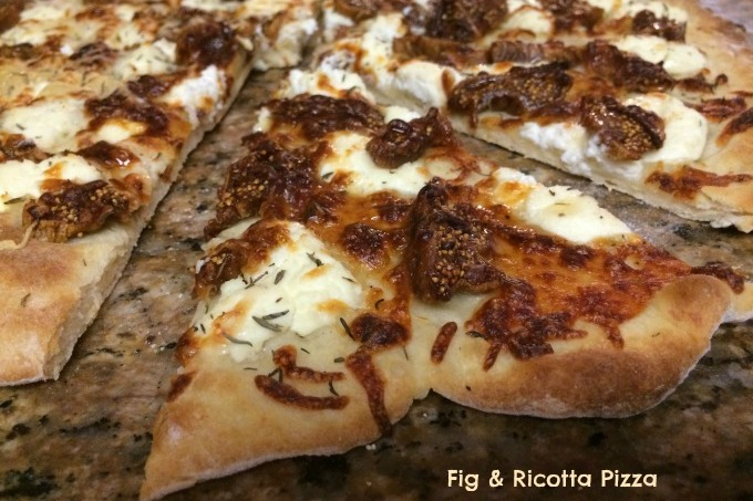 Fig & Ricotta Pizza