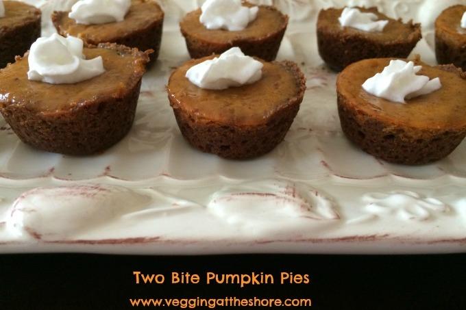 Two Bite Pumpkin Pies
