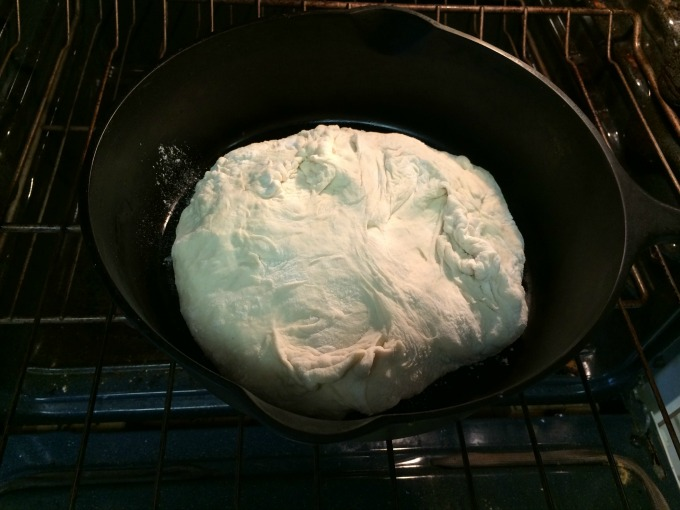 dough in dutch oven