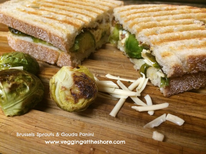 Brussels Sprouts & Gouda Panini