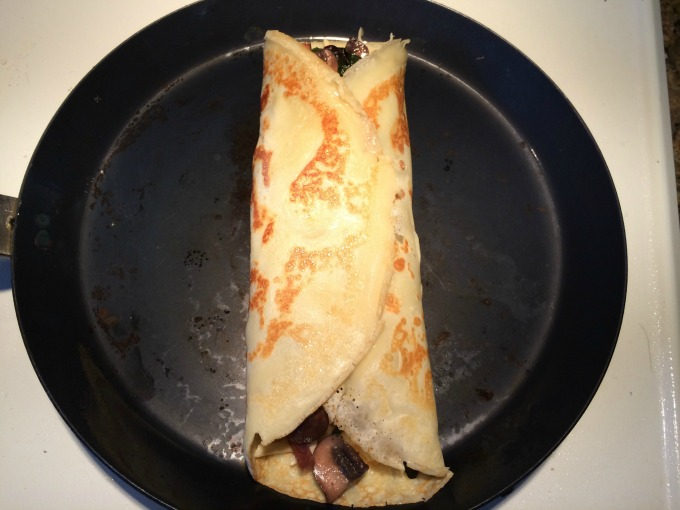 Folded up Crepe