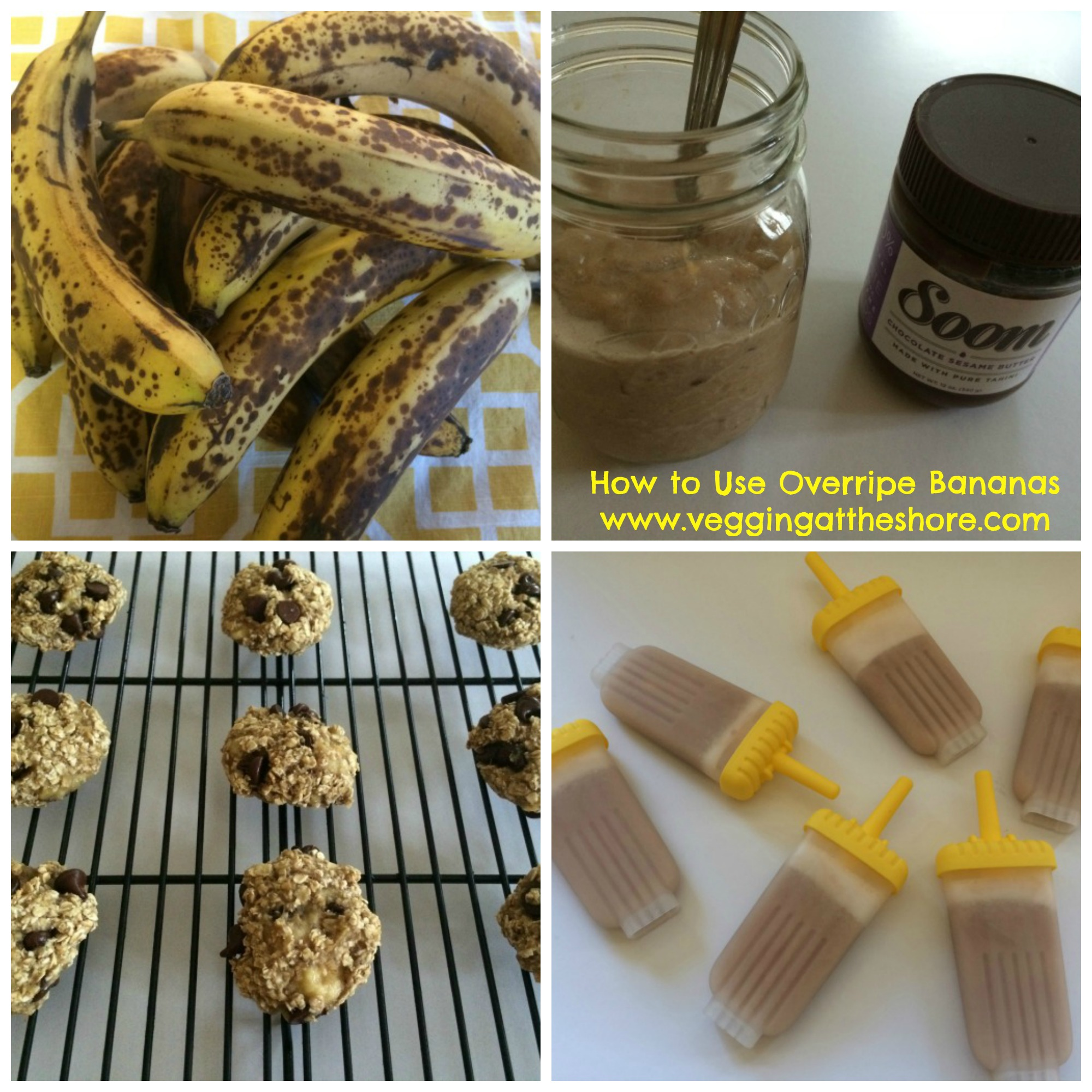 How to Use Overripe Bananas