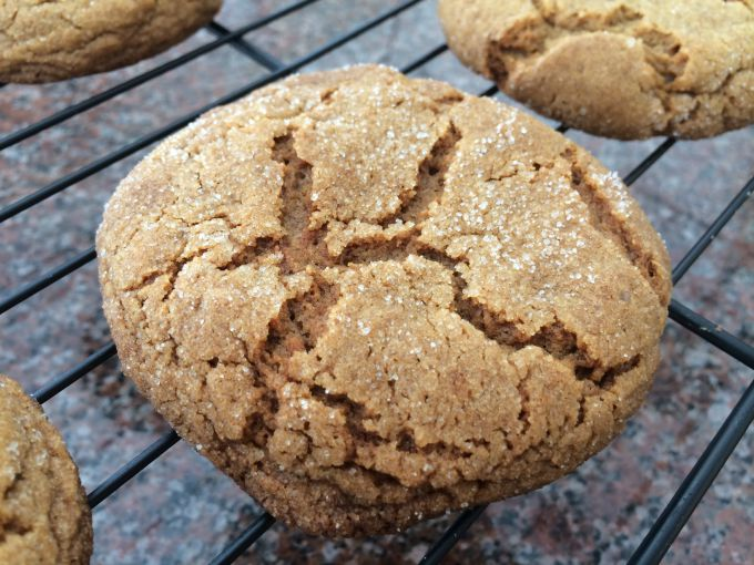 Ginger Chewies Cookies