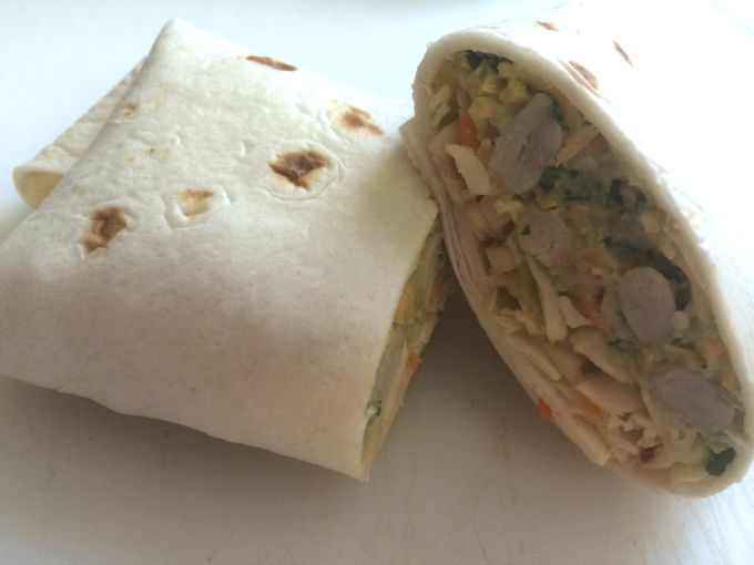 White Bean Wrap