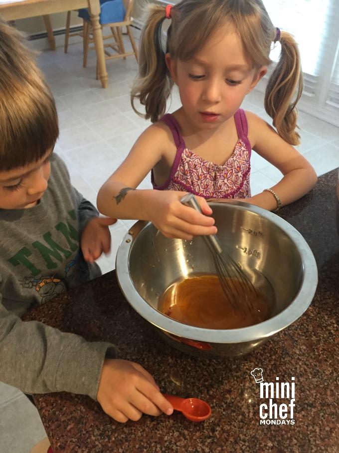 Stirring Wet Ingredients