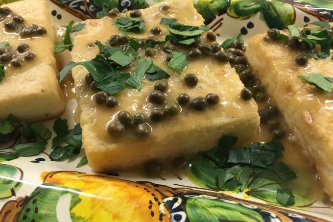 Tofu Piccata Plates
