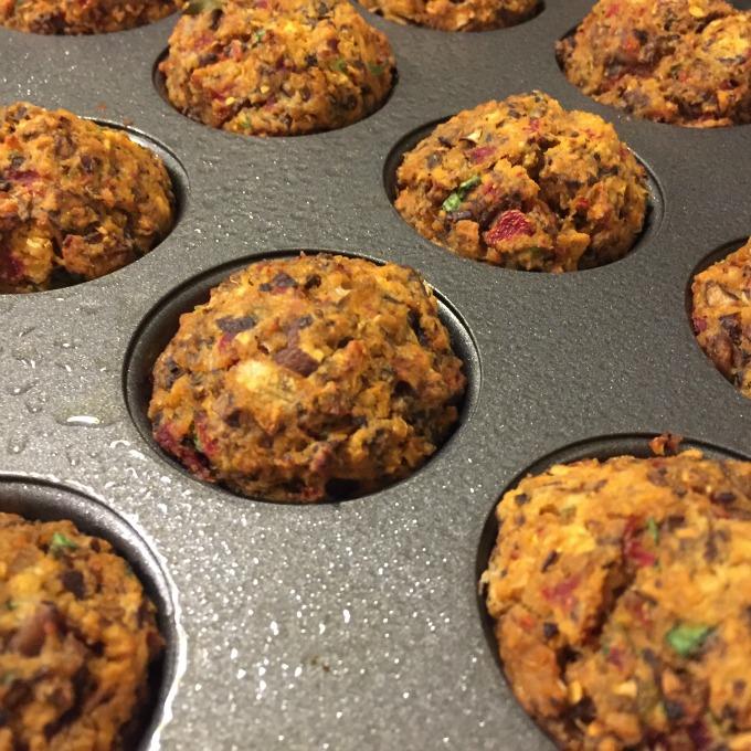 Veggie Meatballs in Pan