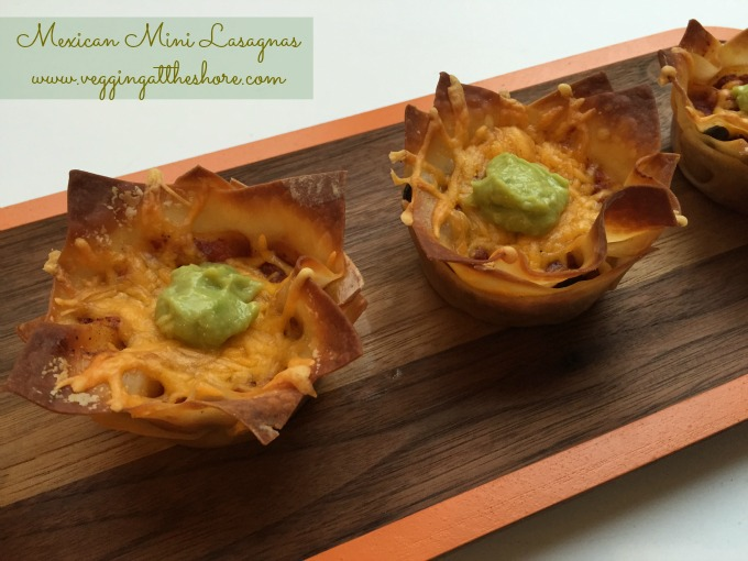 Mexican Mini Lasagnas