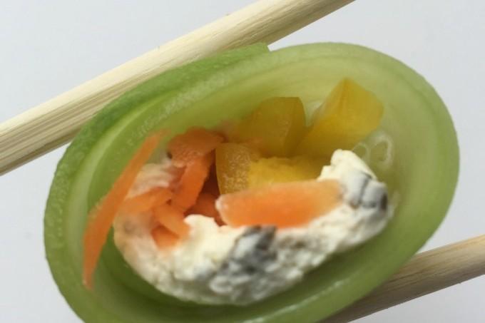 Riceless Vegetable Sushi
