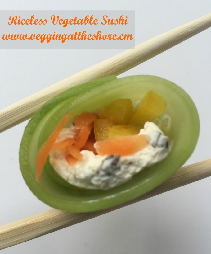 Riceless Vegetable Sushi