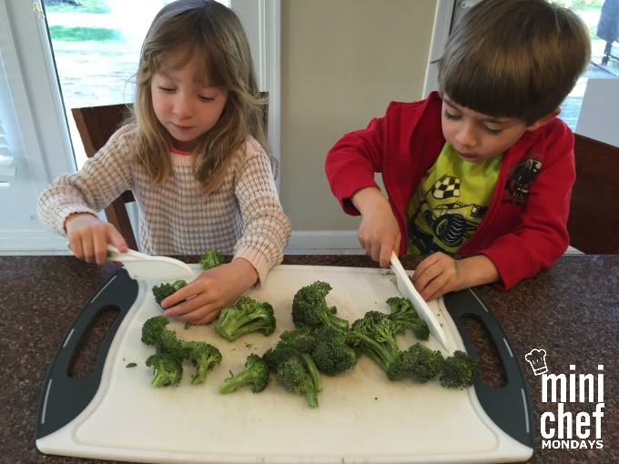 Chopping Broccoli