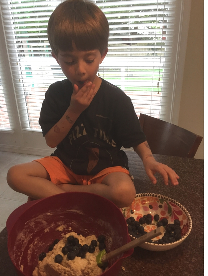 Popping Blueberries