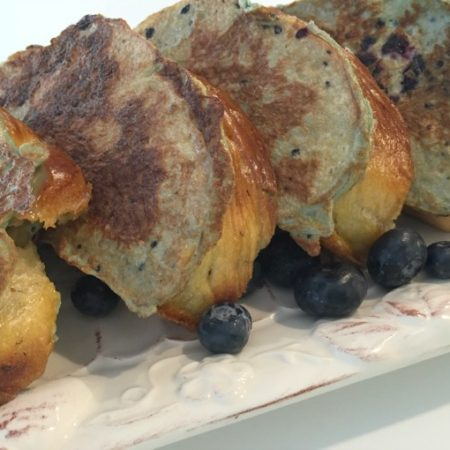 Blueberry Challah French Toast
