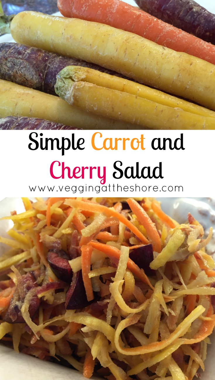 Simple Carrot Cherry Salad