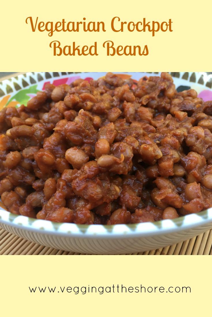 Vegetarian Crockpot Baked Beans