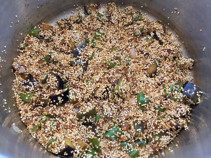 Added Quinoa