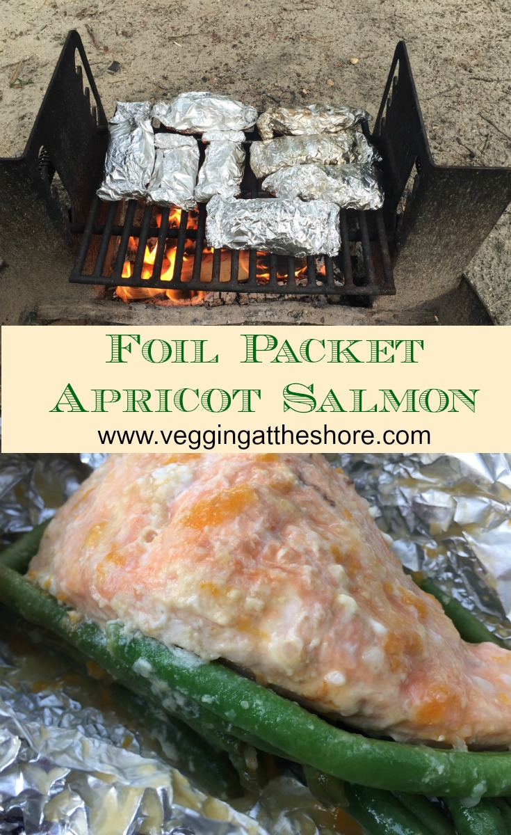 Foil Packet Apricot Salmon