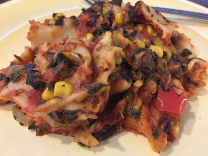 slow-cooker-pumpkin-vegetable-lasagna