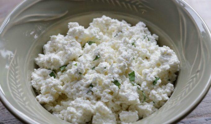Homemade Ricotta Cheese