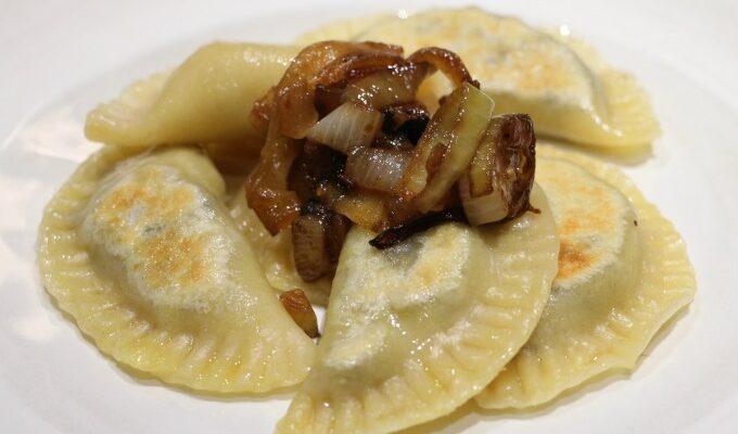 Mushroom and Potato Pierogies